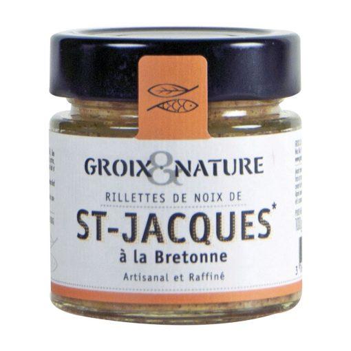 Rillettes de noix de st-Jacques à la bretonne