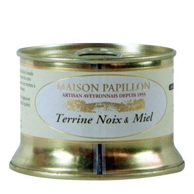 Terrine noix et miel Maison Papillon