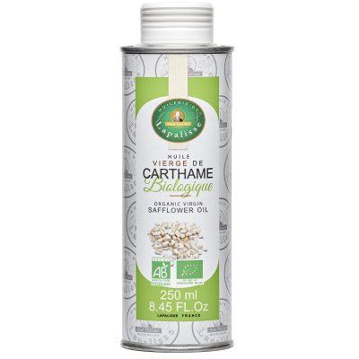 huile vierge de carthame biologique