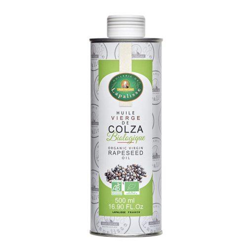 huile vierge de colza biologique bidon 500 ml