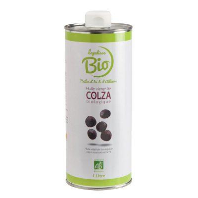 huile vierge de colza biologique bidon 1 litre