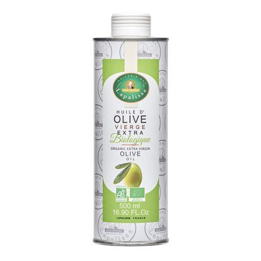 huile d'olive biologique bidon 500 ml