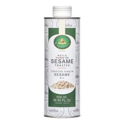 huile vierge de sésame toastée bidon 500 ml