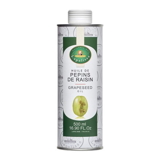 huile de pépins de raisin bidon 500 ml