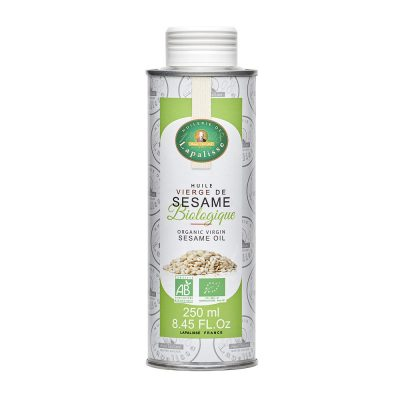 huile vierge de sésame biologique bidon 250 ml