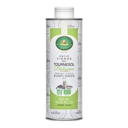 huile vierge de tournesol biologique bidon 500 ml