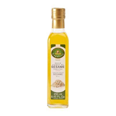 huile sésame toastée verre 250 ml