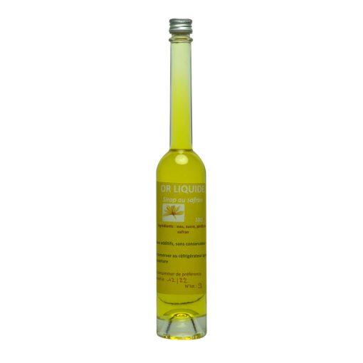 sirop de safran or liquide