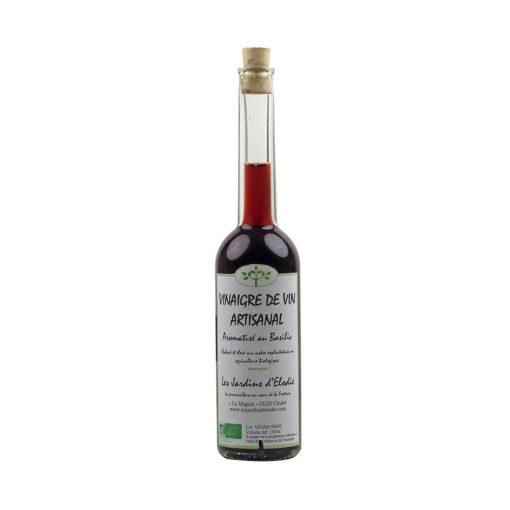 vinaigre de vin arôme basilic