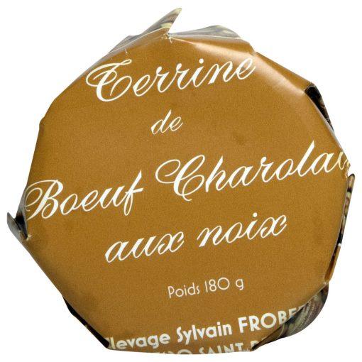terrine de bœuf charolais aux noix Sylvain FROBERT
