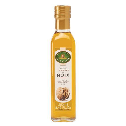 huile vierge de noix bouteille verre 250ml