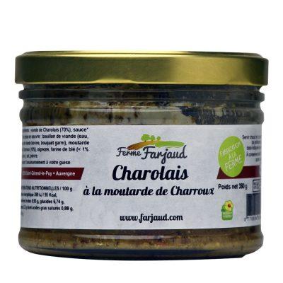charolais à la moutarde de Charroux