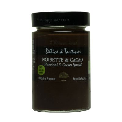 délices à tartiner noisette cacao