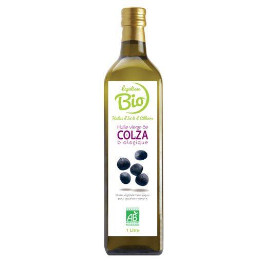 Lapalisse Bio huile de colza 1 L bouteille