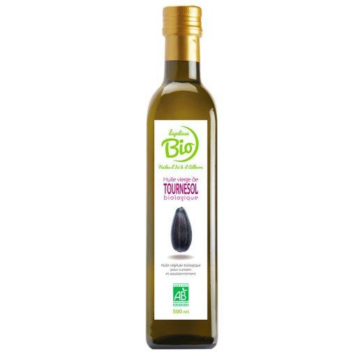 Lapalisse Bio tournesol bouteille en verre 500 ml