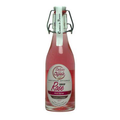 sirop de rose Les délices de la cigale